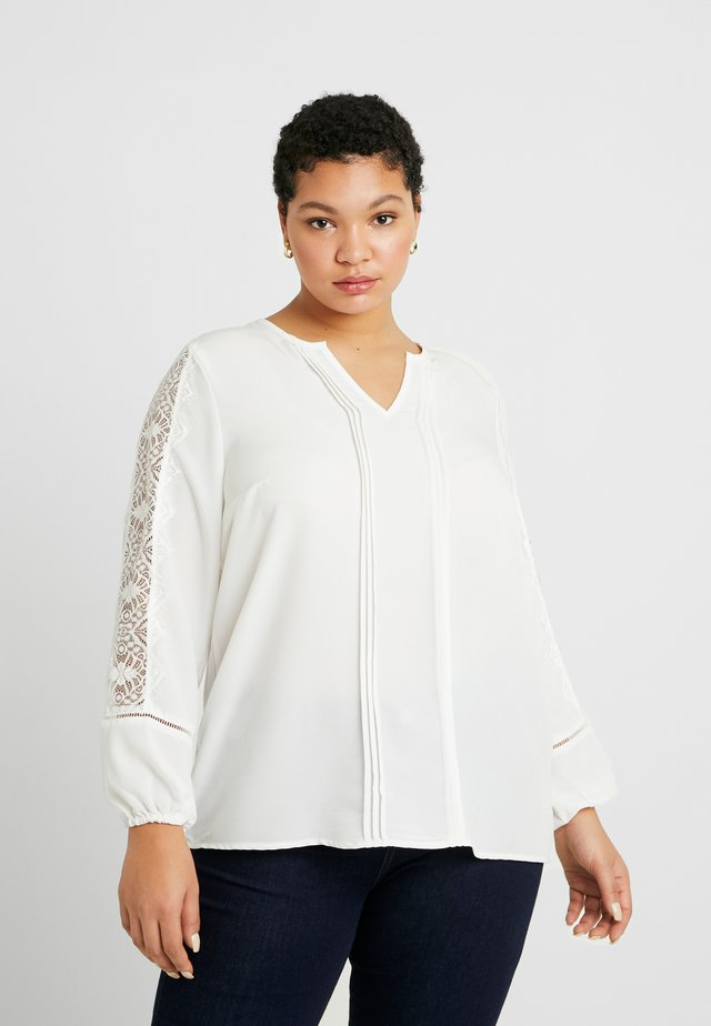 CARCANA LIFE - Blouse - cloud dancer