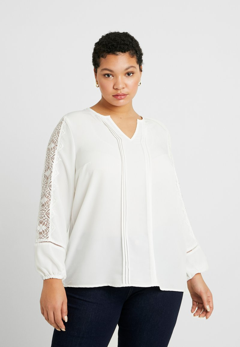 ONLY Carmakoma - CARCANA LIFE - Blouse - cloud dancer