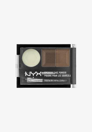 EYEBROW CAKE POWDER - Eyebrow powder - 5 brunette