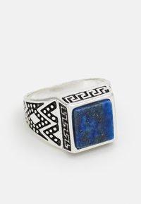 Burton Menswear London - SIGNET SET - Anello - blue - 3