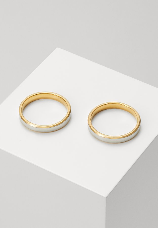 2 PACK - Anillo - gold-coloured