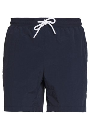 TAPED SWIM - Swimming shorts - midnight navy