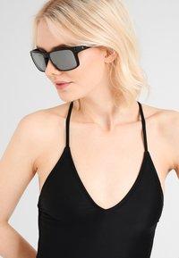Oakley - HOLBROOK UNISEX - Sunglasses - matte black - 1