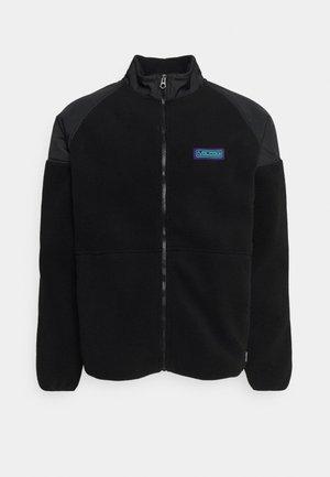 RUNTIME ERROR ZIP - Fleece jacket - black