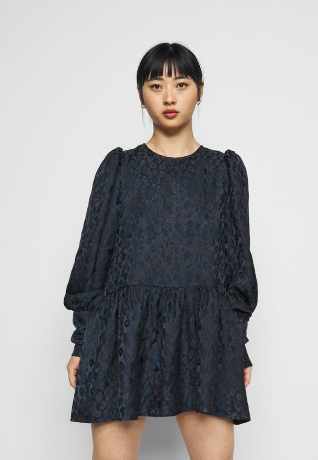 MINI DRESS - Day dress - navy