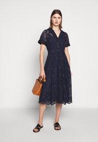 J.CREW - MAHALIA DRESS - Košilové šaty - navy - 1