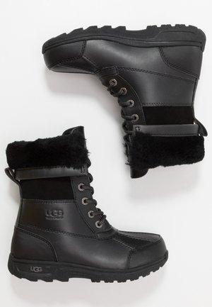 BUTTE  - Winter boots - black