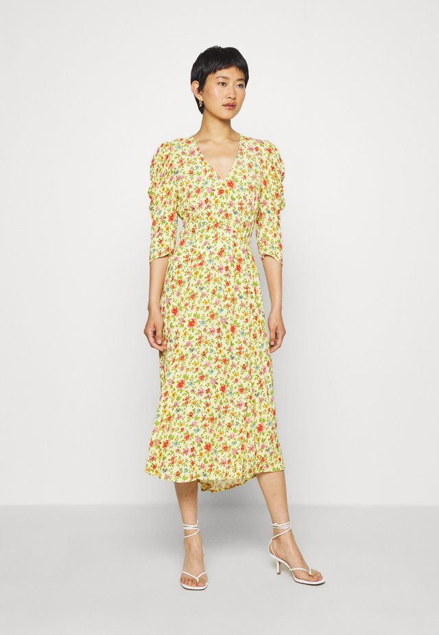 MIRA DRESS - Cocktailjurk - yellow