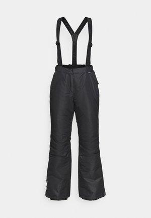 FIDELITY - Spodnie narciarskie - black