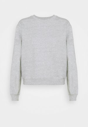 Basic Crew neck regular fit - Sweatshirt - mottled light grey