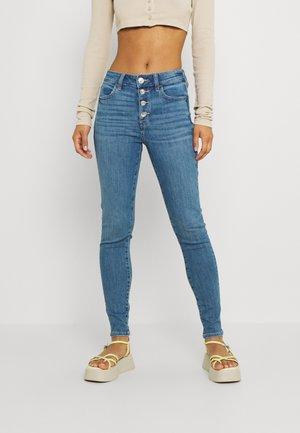 HI-RISE CROP - Jeans Skinny Fit - dream blue