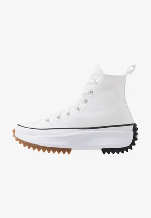RUN STAR HIKE - Sneakers high - white/black