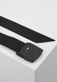 Tommy Jeans - BELT - Pásek - black - 2