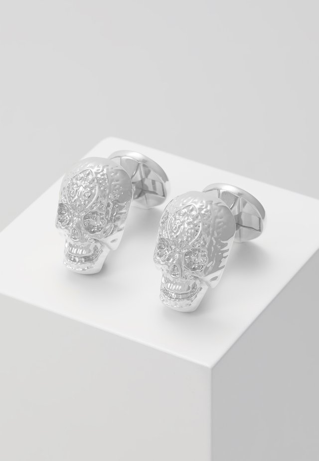 ERIC CUFFLINKS - Manchetknoop - shiny rhodium