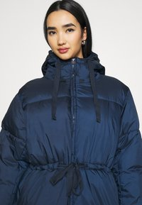 Weekday - ALLY LONG PUFFER - Winter coat - navy - 4