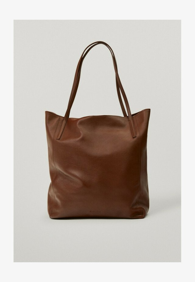 Shopper - brown