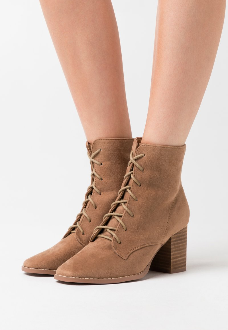 Rubi Shoes by Cotton On - MARCELLE LACE UP - Ankle boots - taupe