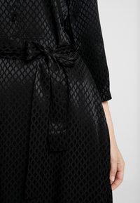 Kaffe - KAVELLA DRESS - Shirt dress - black deep - 6