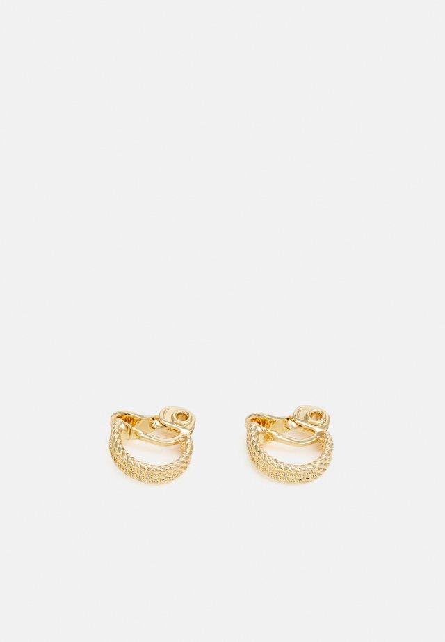 ROPE HOOP - Náušnice - gold-coloured