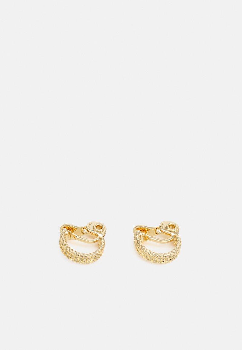 Lauren Ralph Lauren - ROPE HOOP - Earrings - gold-coloured