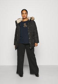 Vero Moda Curve - VMSKYLAR JACKET - Winter coat - black - 1