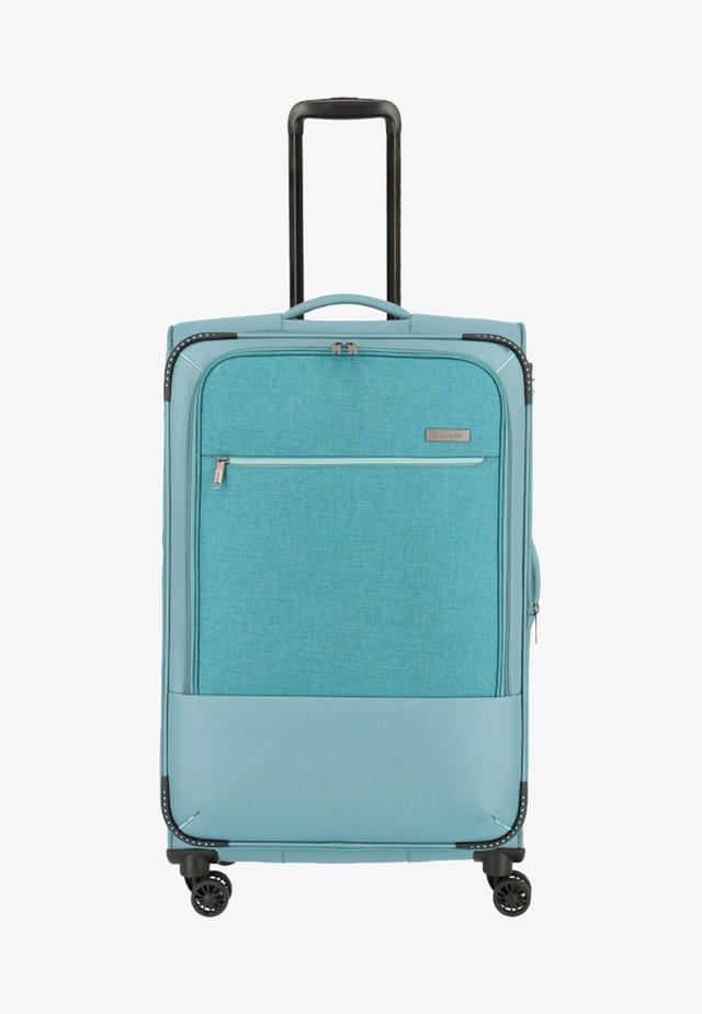 Wheeled suitcase - aqua