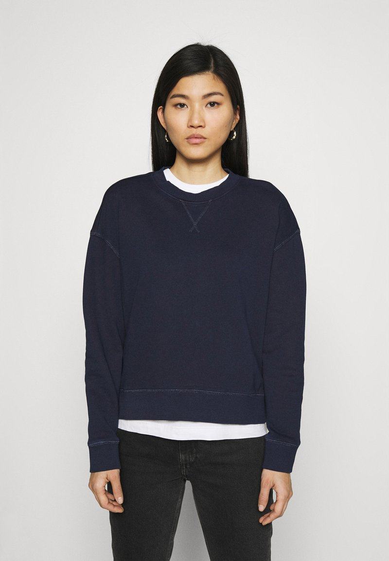 Marc O'Polo DENIM - LONGSLEEVE CREWNECK - Sweatshirt - scandinavian blue
