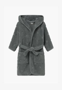Müsli by GREEN COTTON - BATHROBE BUNNY UNISEX - Dressing gown - lagoon green - 0