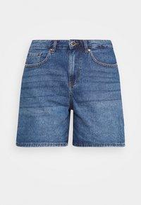 ONLY - ONLPHINE LIFE  - Shorts vaqueros - medium blue denim - 3