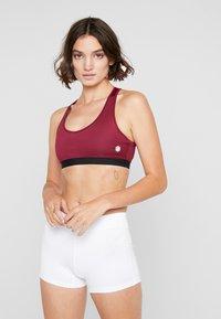 ASICS - CLUB DRESS - Sportovní šaty - brilliant white - 3