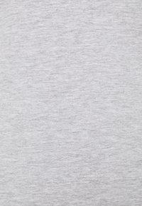 Anna Field - 2 PACK - T-shirts basic - white/mottled light grey - 4