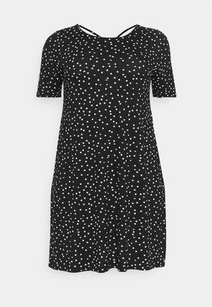 CARBANDANA DRESS - Jersey dress - black