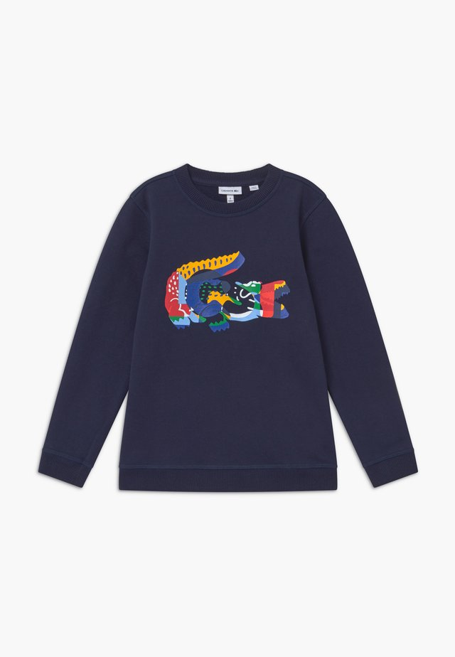 Sweatshirt - marine/multicolour