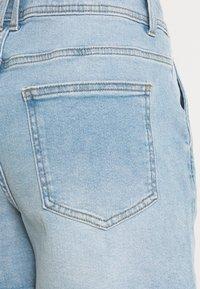 JDY - JDYCARMEN LIFE POCKET - Denim shorts - light blue denim - 4