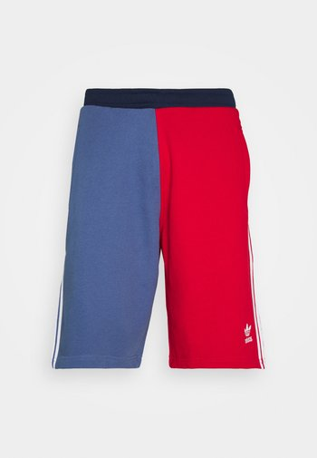 BLOCKED UNISEX - Shorts - scarlet/crew blue