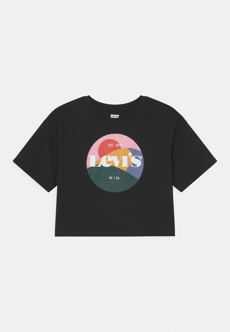 Levi's® - HIGH RISE - T-shirt imprimé - black