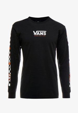 WARPED - Long sleeved top - black