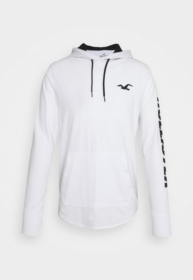 HOOD - Camiseta de manga larga - white