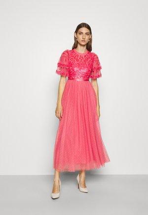 SEREN BODICE ANKLE GOWN - Společenské šaty - watermelon pink