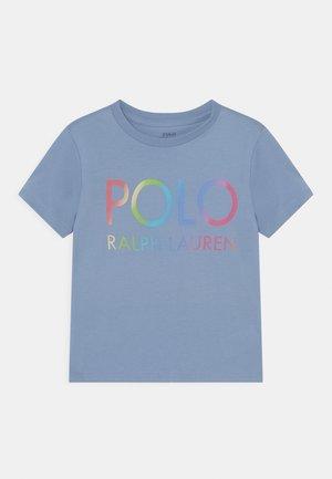 TEE - Print T-shirt - chambray blue