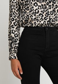 Missguided - VICE HIGH WAISTED  - Trousers - black - 3