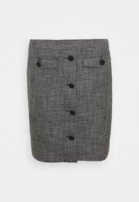 comma - Mini skirt - dark grey - 0