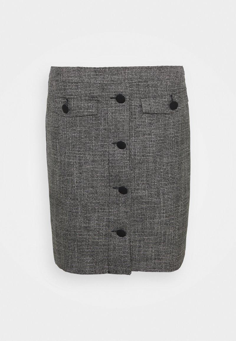 comma - Mini skirt - dark grey