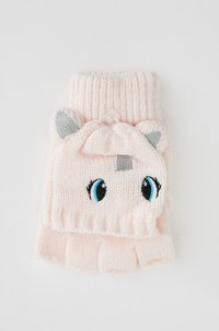 DeFacto - Fingerless gloves - pink - 3