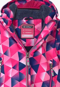 Killtec - VIEWY - Snowboard jacket - pink/dark blue - 4