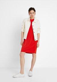 KIOMI - Jersey dress - red - 1