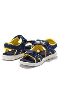 Timberland - Walking sandals - black iris - 1