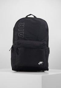 Nike Sportswear - AIR HERITAGE  - Rucksack - black/white - 0
