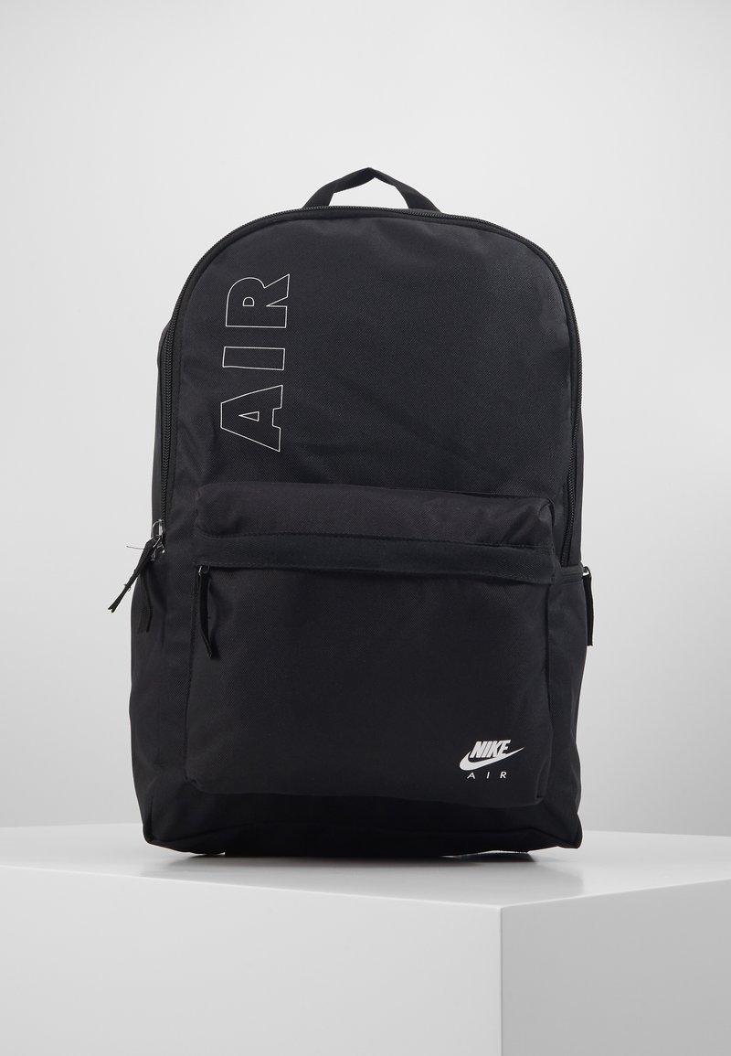 Nike Sportswear - AIR HERITAGE  - Rucksack - black/white