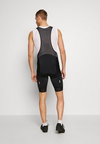 POC - PURE BIB SHORTS - Tights - uranium black/uranium black - 2